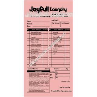 Nota Toko Laundry 2 Ply Paket 50rb
