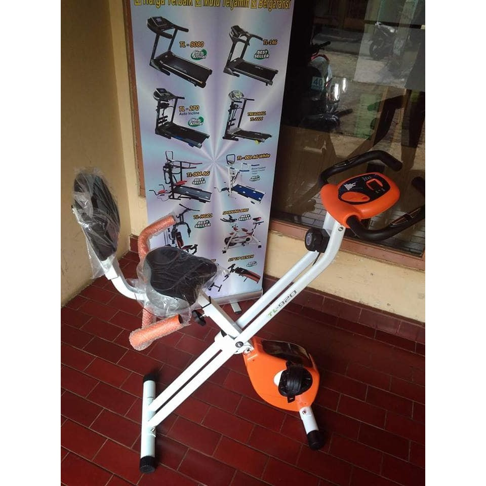 Dapatkan Harga Sepeda Murah Diskon Shopee Indonesia Total Fitness Orbitrack Multifungsi Orb2000s