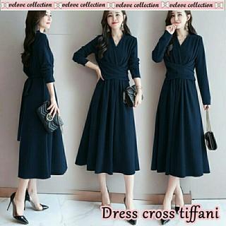 HCL Dress Iva - Dress Wanita - Busana Wanita - Pakaian Wanita - Baju Wanita  - 761d1024be