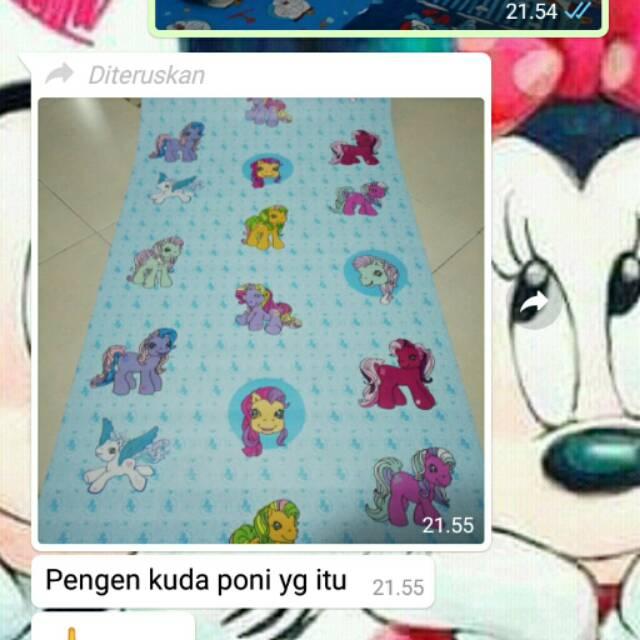 Wallpaper Dinding Kuda Pony Shopee Indonesia