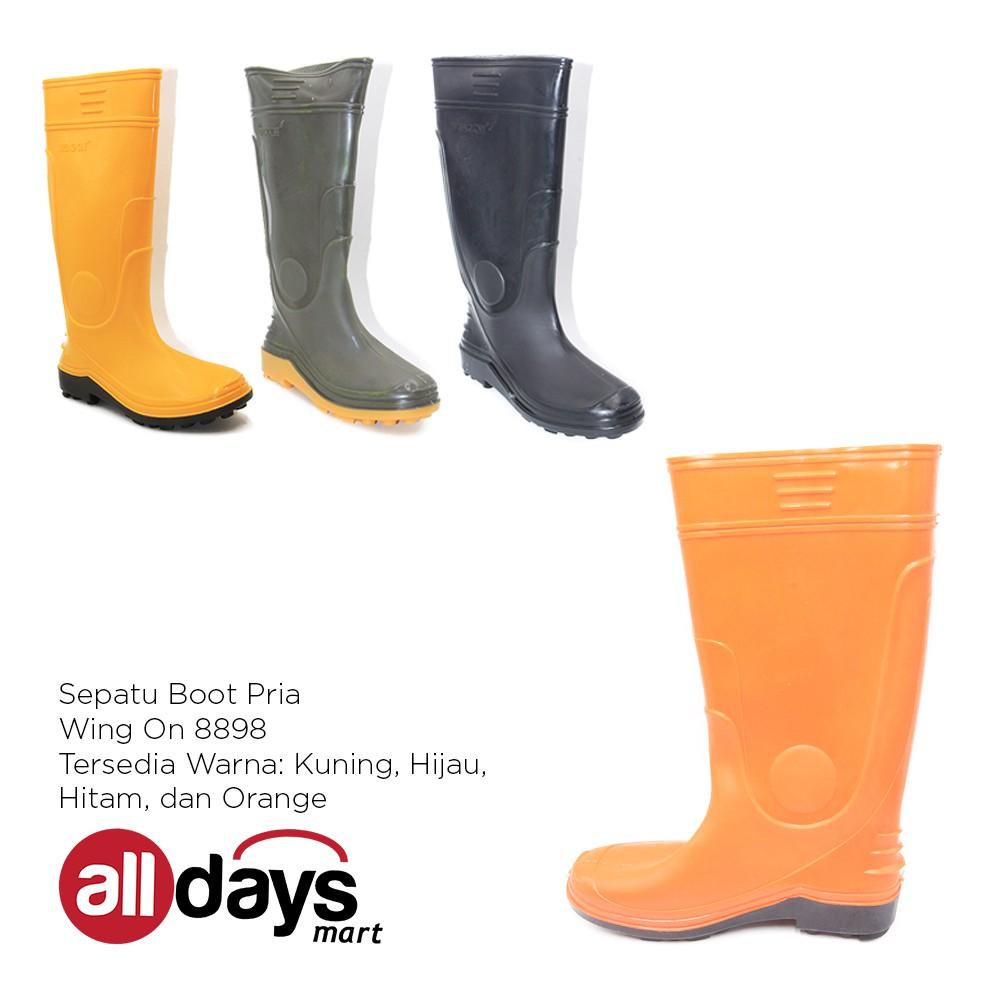 Size 38 s d 42 AP Terra ECO 3 HIJAU Sepatu Boot Panjang ApBoots Murah  76b37e7325