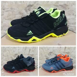 Sepatu Adidas AX 2 running import murah joging olahraga volly badminton lari a97b69c4d6