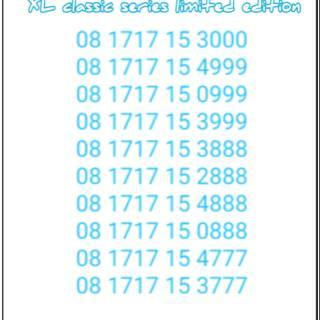 1717 ekor Triple nomor cantik xl langka 4G lte. suka: 0 .