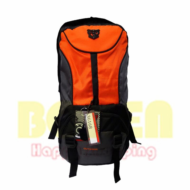 Tas Carrier Palazzo 36168 Orange 50l Gunung Hiking Travel Outdoor ... 5de6225a73