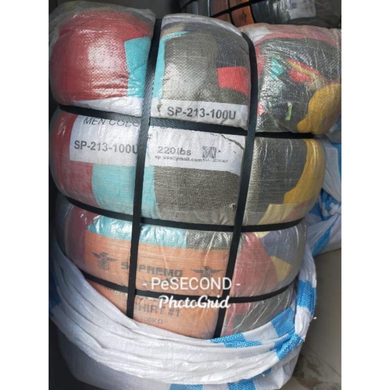 Ball Segel Import Langka Ichiban Kaos Polos Cowok Premium
