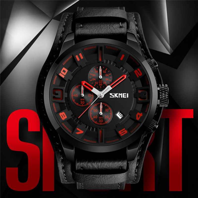 【Skmei Offical Store】SKMEI 9106 Jam Tangan Quartz Pria untuk Bisnis | Shopee Indonesia