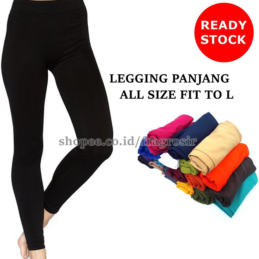 Celana Legging Panjang Wanita Spandek Balon Premium All Size Grosir Ecer Shopee Indonesia