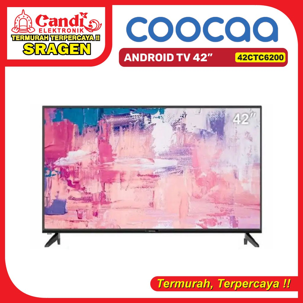 COOCAA ANDROID TV 42 INCH - 42CTC6200