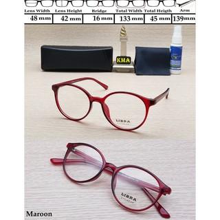 Terbaru kacamata minus Frame LIBRA frame kacamata korea kacamata vintage  minus 01 Murah 81e238406e