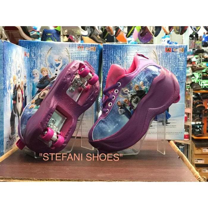 Aksesoris Skate   Stok Terbatas!! Sepatu Roda 2 Frozen Roller Shoes 2 In 1  Paling Murah  bb54bade52