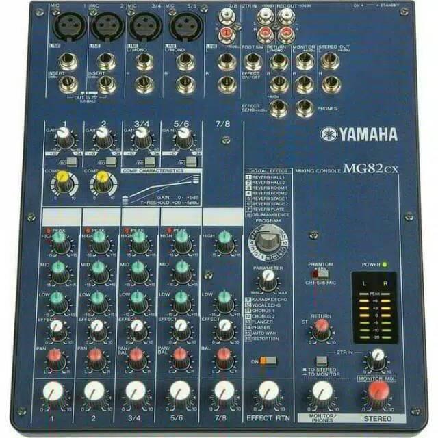 Mixer Yamaha MG82 CX /Mixer Audio Yamaha 8 Channel