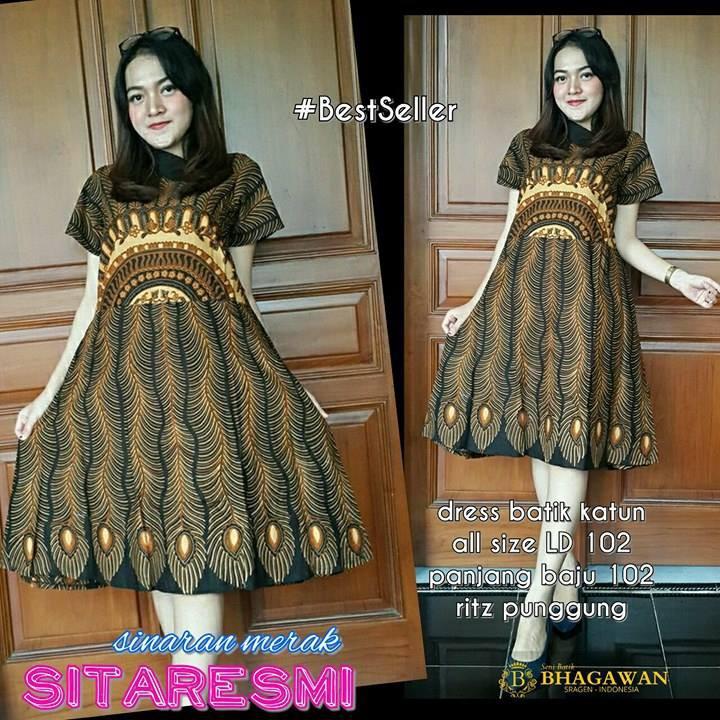Dress Batik Keris 243597c4db