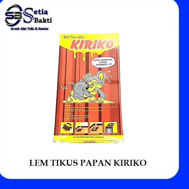 Q0u Lem Tikus Papan Kiriko Lem Perangkap Tikus Kiriko Shopee Indonesia