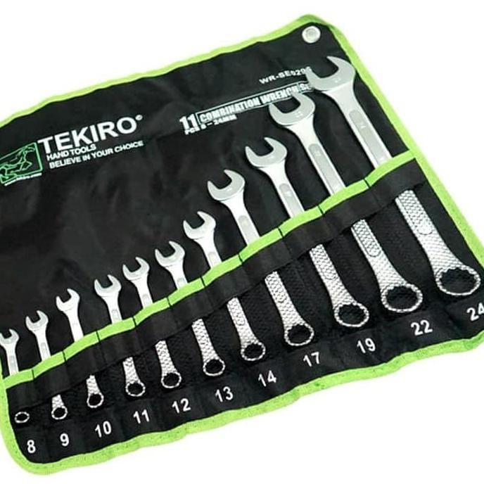 Kunci RingPas Tekiro 8-24 - Tekiro Kunci Ring Pas Set Original