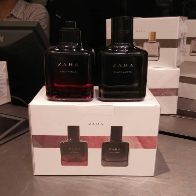 Vanila Zara Original AmberRed 100ml Edt Black Parfum CWBrdeQxo
