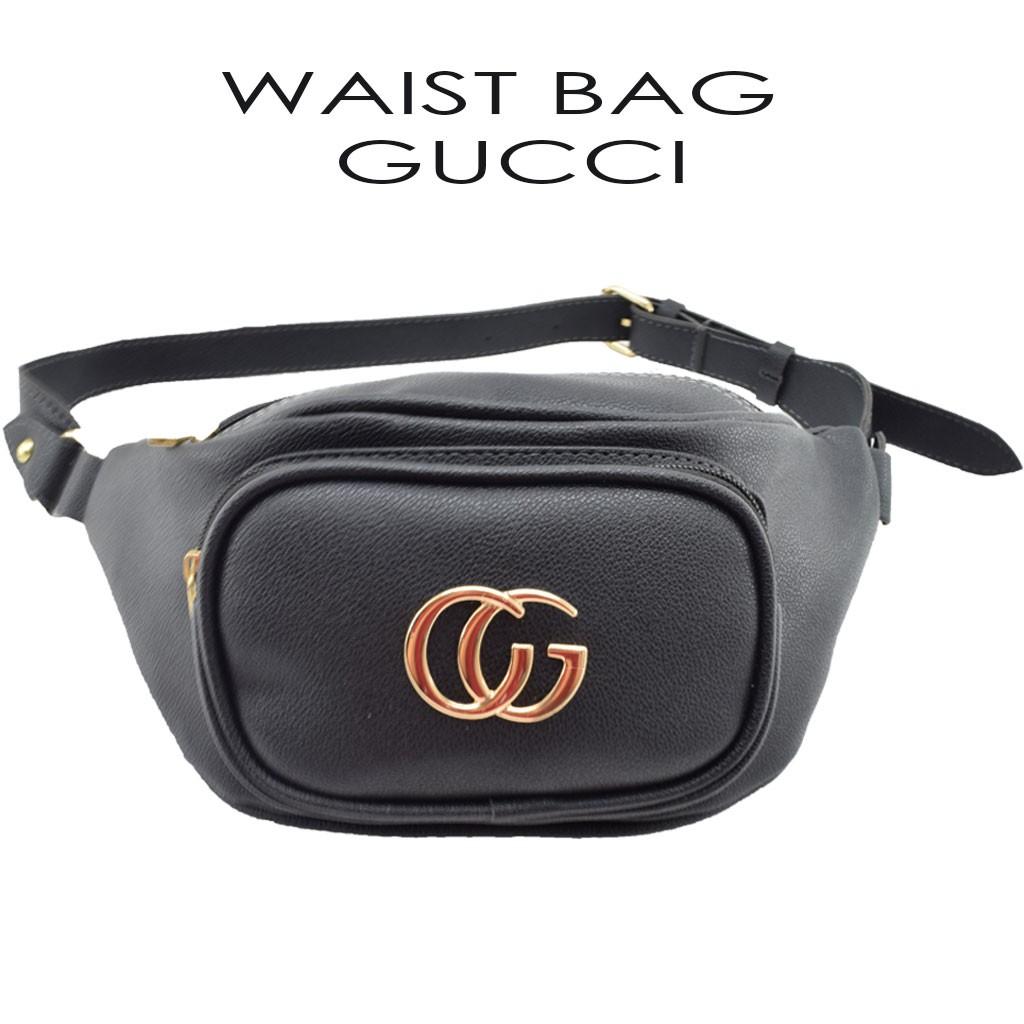 Tas GUCCI BELT MINI BAG NAGITA FASHION Murah Batam Wanita Import Pinggang  Waist Bag Selempang  096ac88acf