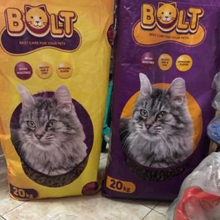 Makanan Kucing Bolt 20kg Murah Shopee Indonesia