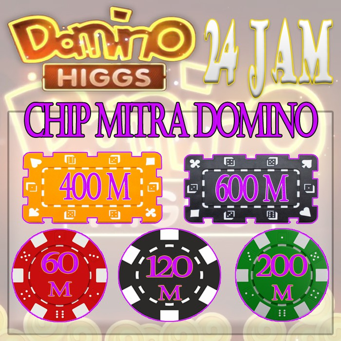 Chip ECER UNGU - Higgs Domino Island - Chip Resmi - Chip Ungu - Chip MD - Chip ECERAN