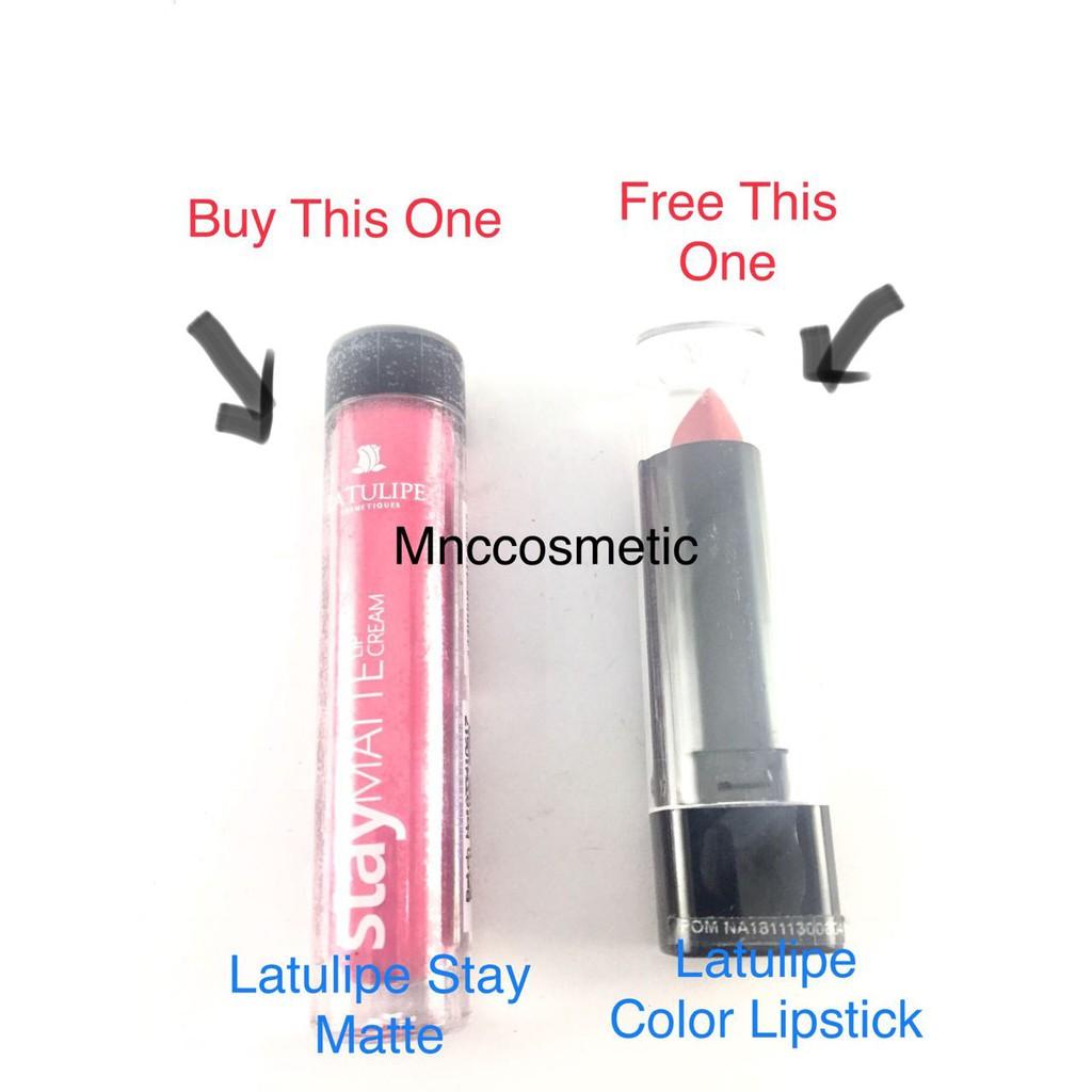 Latulipe Stay Matte Lip Cream 042 Daftar Harga Terkini Dan La Tulipe Lipcream Atau