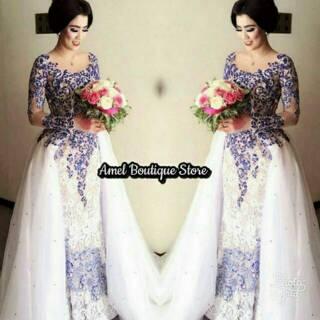 Kebaya Wedding Muslimah Gaun Wedding Kebaya Akad Nikah Kebaya Muslimah Gaun Prewedding