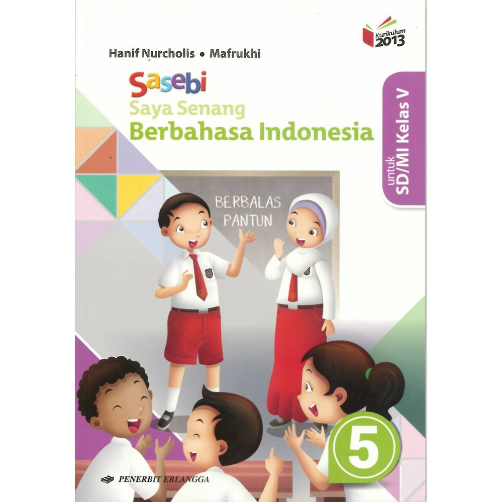 Buku Bahasa Indonesia Kelas 5 - Peranti Guru