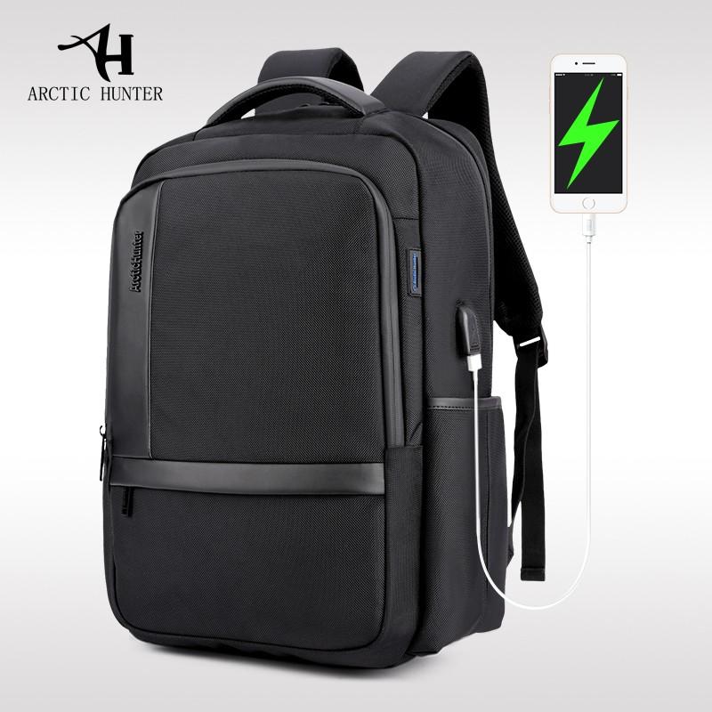 Arctic Hunter Tas Ransel Laptop Premium Executive Oxford Backpack Anti Air dan USB Support AH-B | Shopee Indonesia
