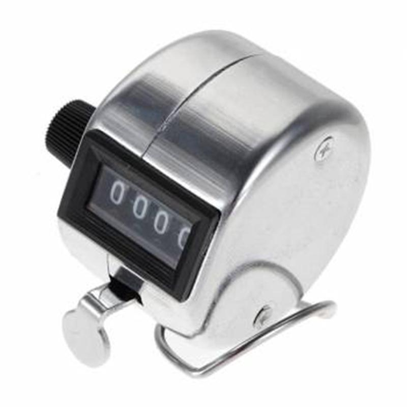 Heavy Duty Hand Mechanical 4 Digit Tally Counter Clicker Lap Number Counter