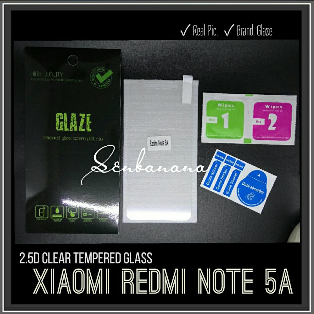 HOT SALE K2 Premium Tempered Glass 2.5D GOOD QUALITY XIAOMI REDMI NOTE 5A/MI A1 KUALITAS BAGUS | Shopee Indonesia