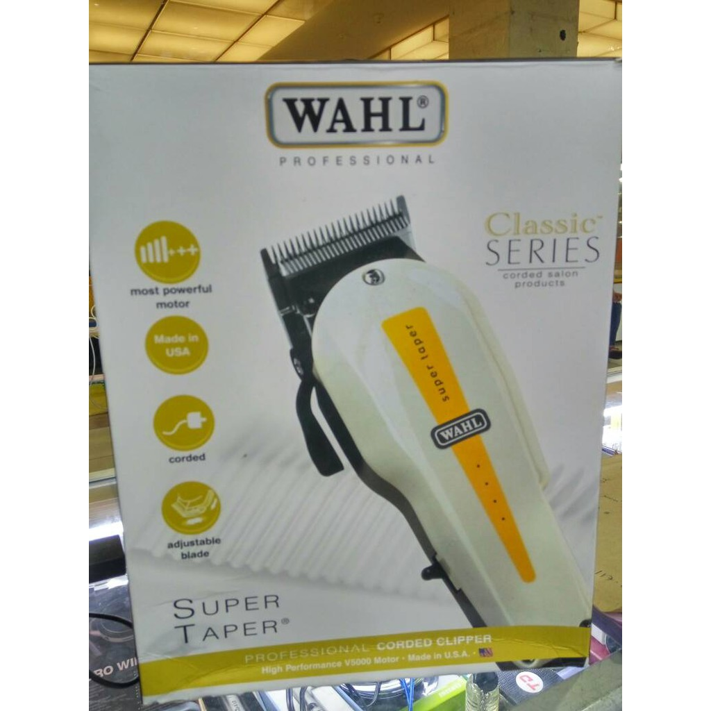 WAHL Professional 5-Star Series Magic Clip Cordless Hair Clipper   Shopee Indonesia