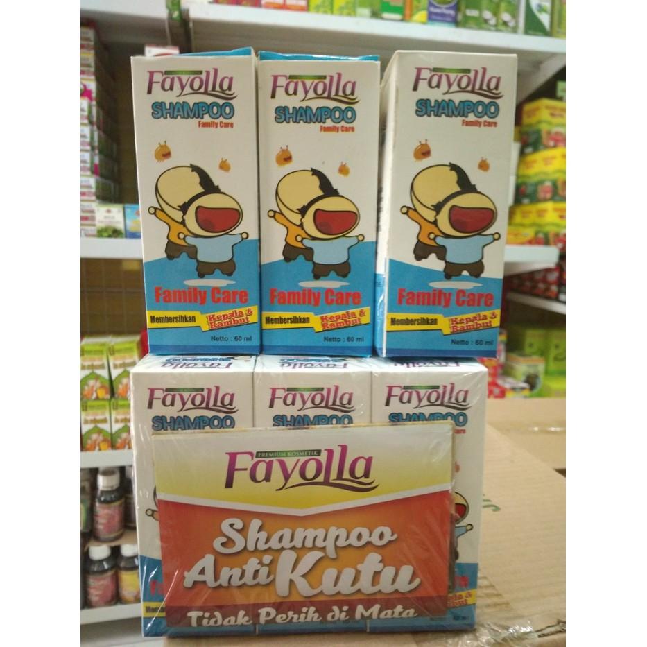 Fayolla Shampo Anti Kutu Shopee Indonesia Fayola Pembasmi Rambut
