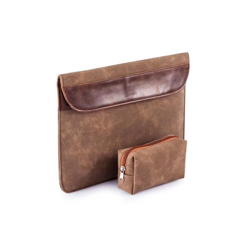 Tas Laptop/ Softcase Sleeve Case Macbook Pro Retina/Air 13 inch Slip On - Coklat | Shopee Indonesia