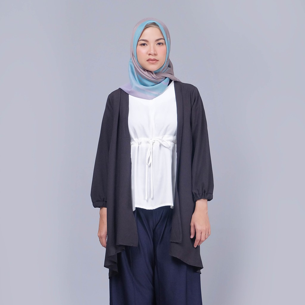 Harga Jual Zaskia Mecca Edyt Tunik Navy Termurah 2018 Galant Dark Grey Pants Abu Tua Meccan Fanyla Outer Shopee Indonesia