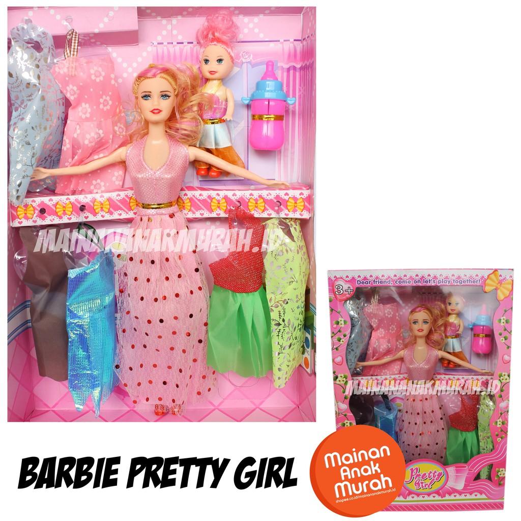 Mainan Boneka Barbie Karakter Mermaid Putri Duyung  5060333c73