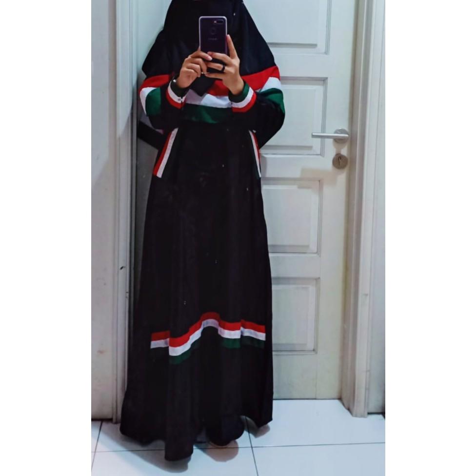 Gamis Palestina Set Segiempat Palestin Palestine Jilbab Hijab