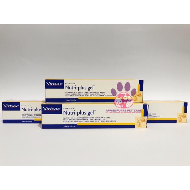 Vitamin Nutriplus Gel Virbac Untuk Anjing Kucing Shopee Indonesia