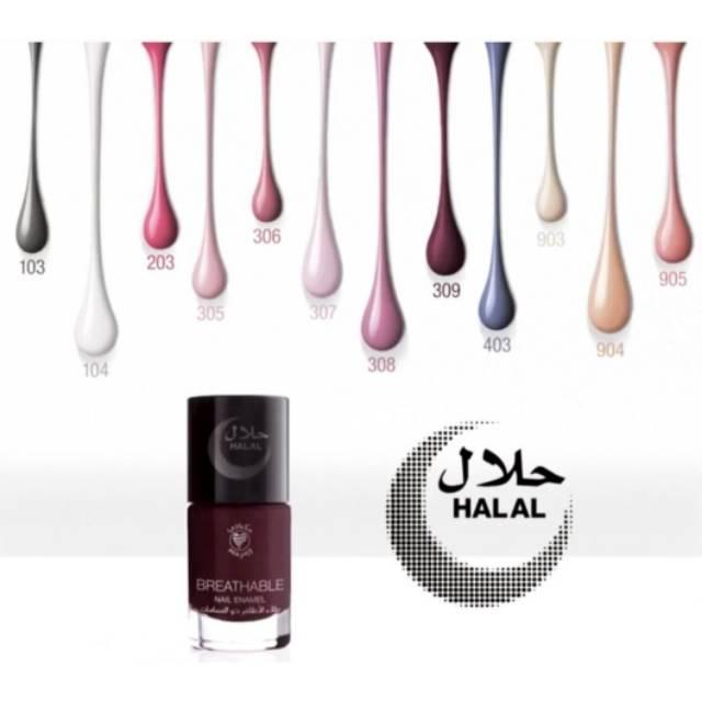 Mikyajy Breathable Nail Enamel Nail Polish Kuteks Halal Shopee Indonesia