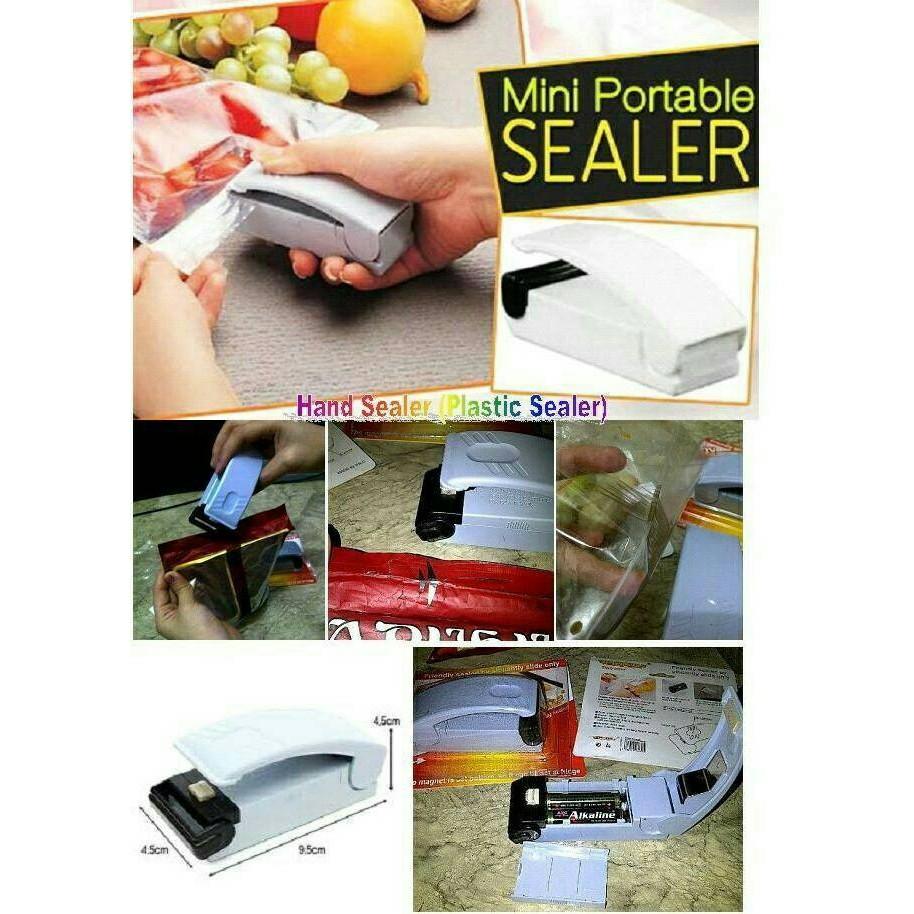 Hand Sealer Penyegel Plastik Shopee Indonesia Mini Perekat Super Handy Pengemas Makanan