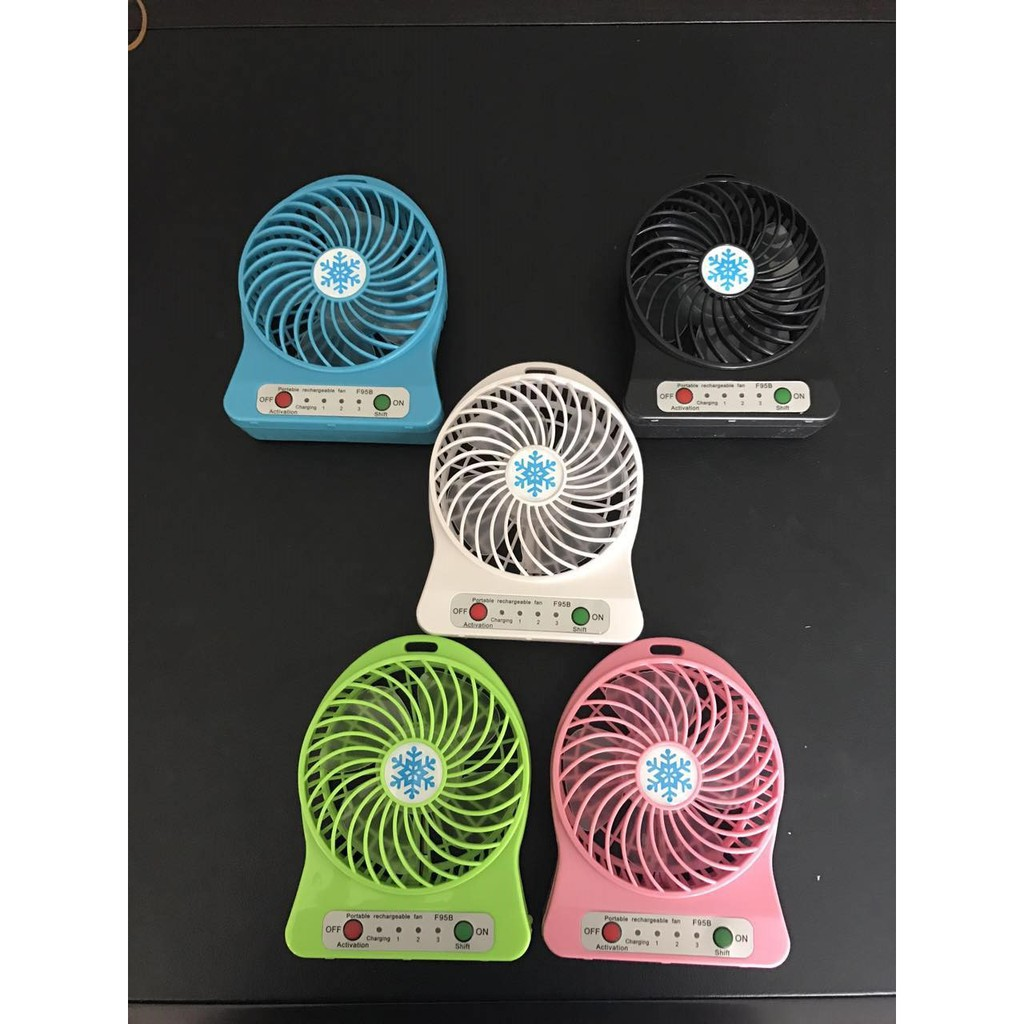 Kipas Angin Usb Portable Shopee Indonesia Mini Fan Besi Kokoh