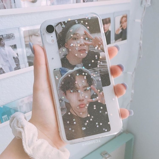 Glitter Star Bintang Case Casing Oppo Vivo Iphone Samsung Aesthetic Kpop Bling Shopee Indonesia