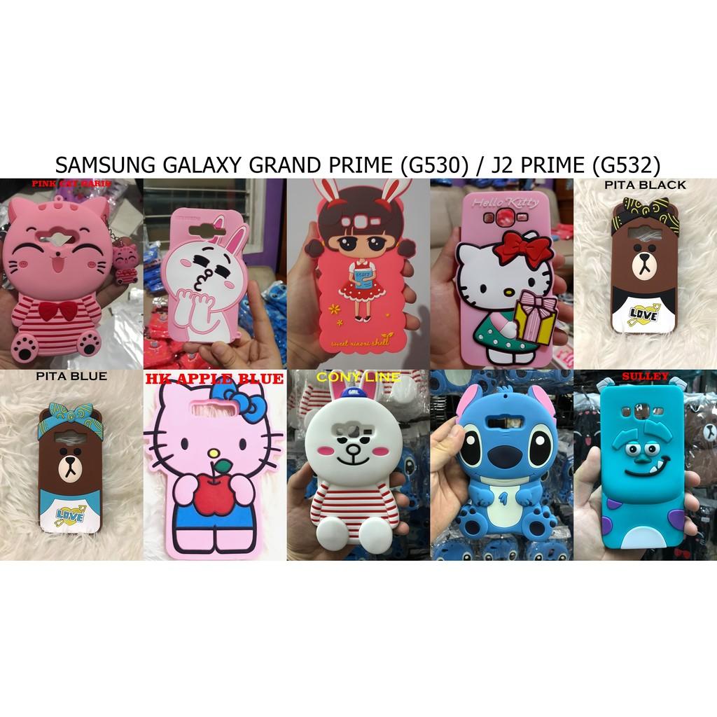 Samsung Galaxy J1 Ace J110 J111 Case Boneka Silicon 3D 4D Softcase Karakter  Animasi Cartoon Karakter  a8b34f7b48