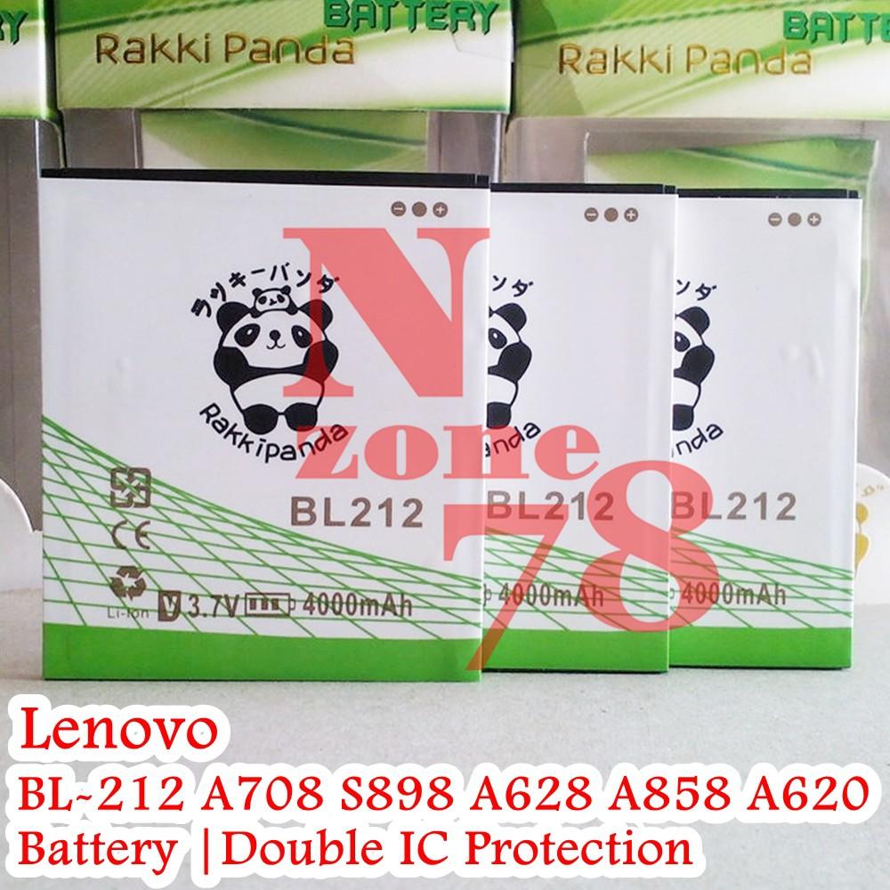 Baterai Lenovo A708 S898T A628T A858 A785EA A620T BL212 Double IC Protection   Shopee Indonesia