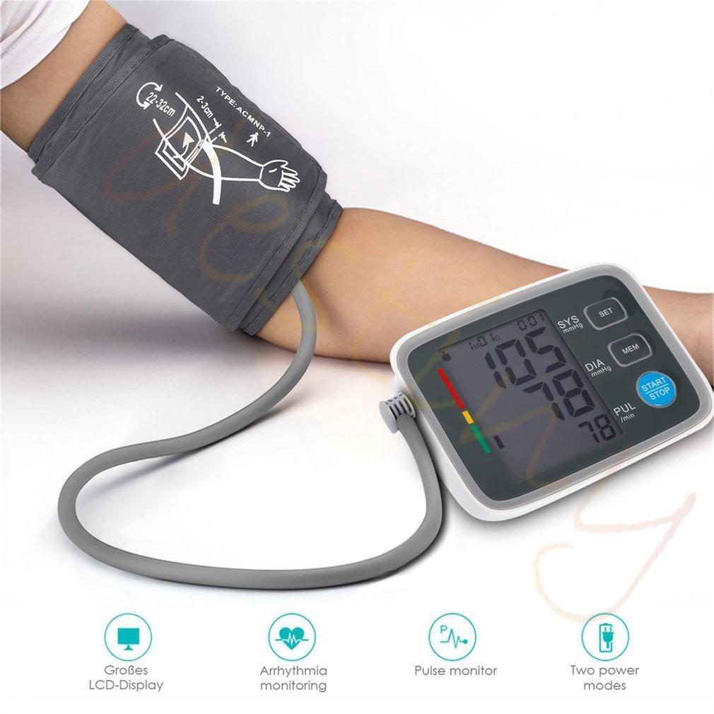 Tempat Jual Alat Kesehatan Pengukur Tensi Darah Digital Blood Ukur Pressure Monitor Tensimeter Otomatis Ban Lengan Atas Untuk Tekanan