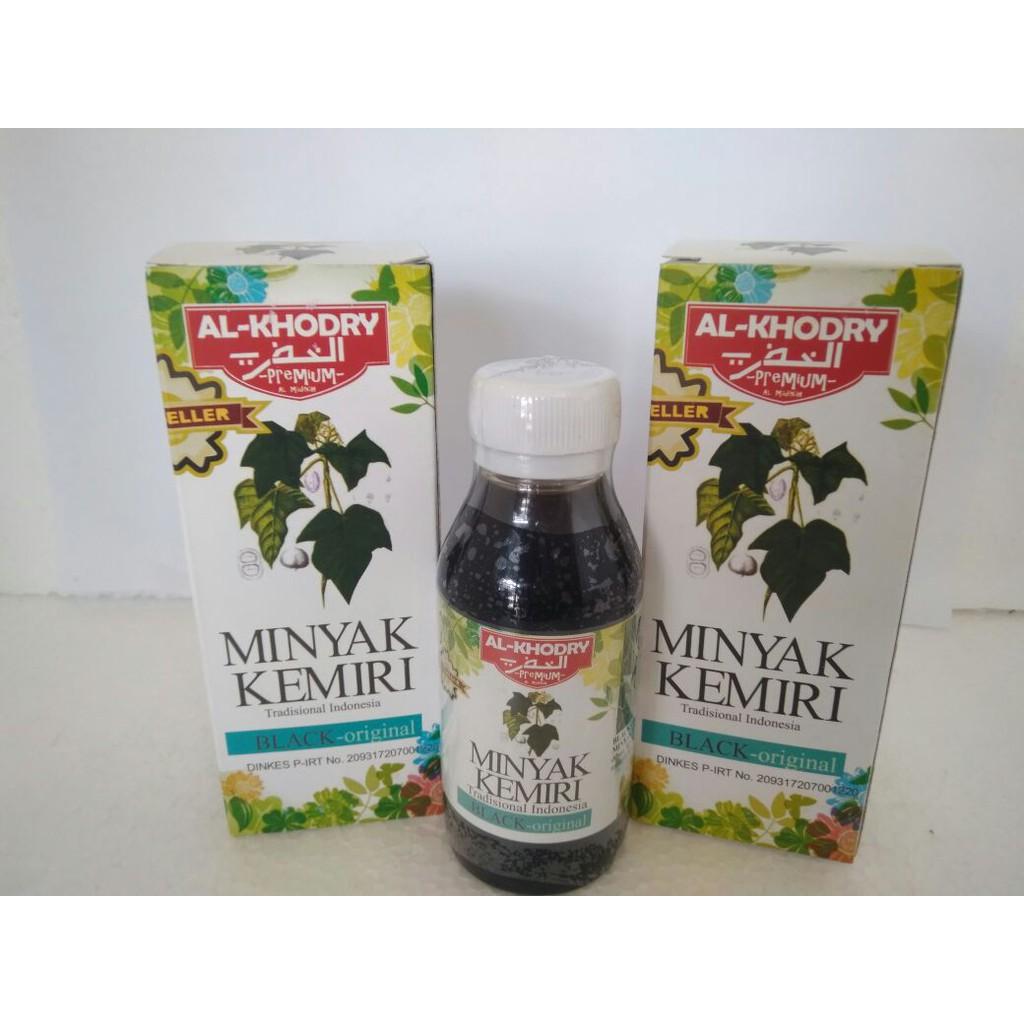 Minyak Kemiri Al Khodry Premium Shopee Bmks Bpom Khusus Flash  1 Pcs Indonesia