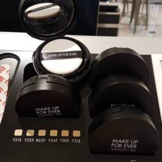 Make Up For Ever Mufe Light Velvet Spf50 Pa Lumi Mat Cushion Foundation