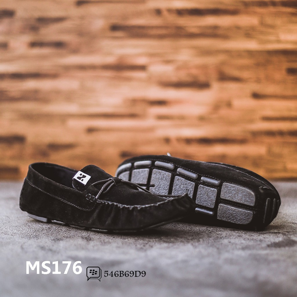 Jual Sepatu Slip On Pria Giant Flames Alton Black Ms201 Shopee Hush Puppies Reign Indonesia