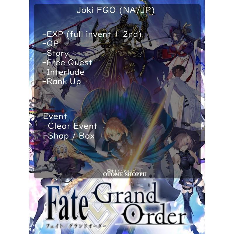 Jasa Joki Fate Grand Order FGO JP/NA