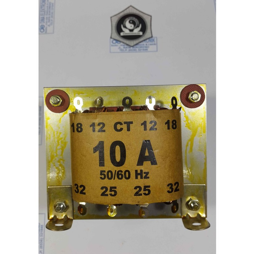 TRAFO 10 AMPER CT 32 VOLT - BELT