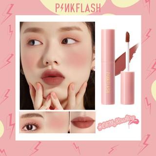 PINKFLASH-M01 Ohmykisairy Kiss Lipstick Cair Matte Anti Air Fungsi Ganda thumbnail