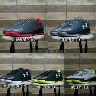 DISKON 40% Sepatu Basket Under Armour Untuk Running Lari Olahraga Pria Cowo  Laki Murah Hemat  33ed9f5535