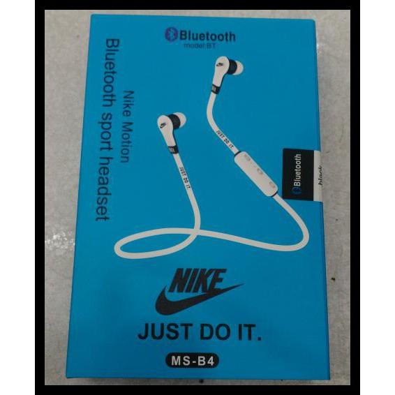 Murah Di Shopee Headset Bluetoth Nike Ms- B4 Original Qr0501